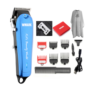 Image 1 - WMARK NG 103Plus Professional cordless Hair cutter Hair Trimmer 6500 rpm hair clipper adjustable length with Stagger Tooth blade