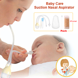 Opieka nad dzieckiem dziecko nos czysty zestaw niemowlę aspirator próżniowy do nosa zestaw noworodka medycyna zakraplacz opieka zdrowotna dla dzieci zestawy 7 sztuk/zestaw|Zestawy do czesania i pielęgnacji|Matka i dzieci -