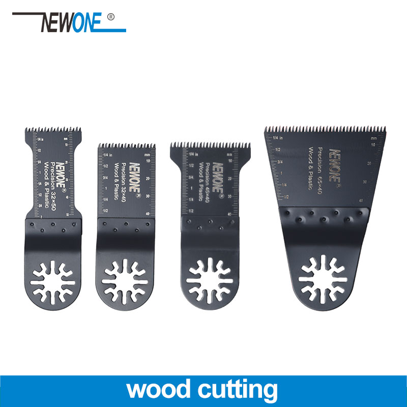 NEWONE Wood Cutting Saw Blade Precision Teeth For Universal Oscillating Multi Tool Power Tool Fein Bosch Makita Milwaukee