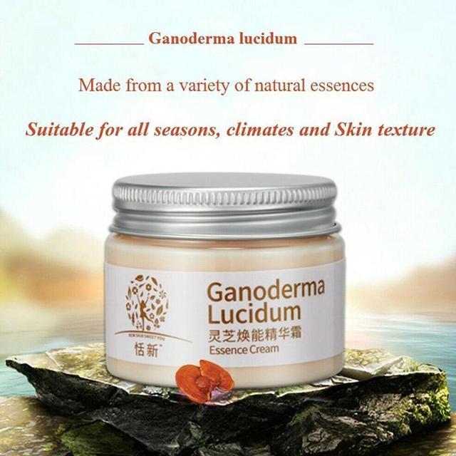 Ganoderma Lucidum crème pour visage crème blanchissante visage hydratant réparation hydratant automne hiver Anti-sec soins de la peau