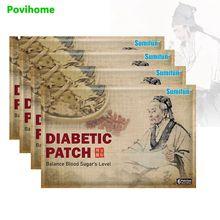 Sumifun 6pcs Blood Sugar Diabetes Patch Reduce Blood Glucose Sugar Balance Plasters 100% Chinese Herbal Medical Plaster  K05101