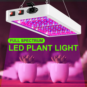 LED Grow Light Phytolamp For Plant Lamp 2000W/1000W Waterproof Led Chip Growth Tent Lamp Full Spectrum Plant Box Lighting Indoor