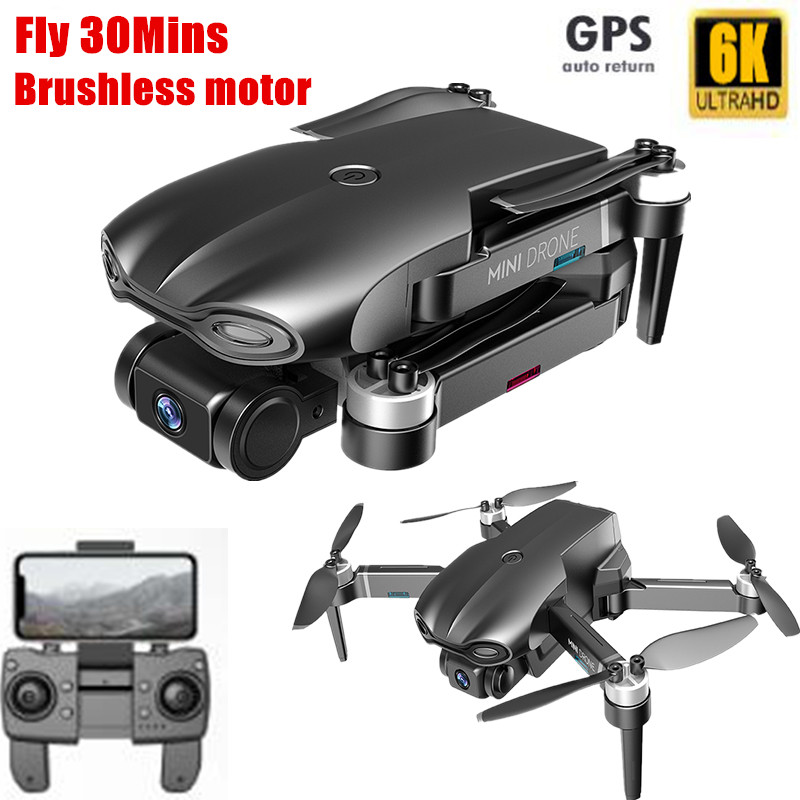 Best Drone GPS 6k 5G Fly 1200M long Range Drone 6K Profesional With Brushless Motor Dual Camera WIFI FPV Foldable Kit Follow Me