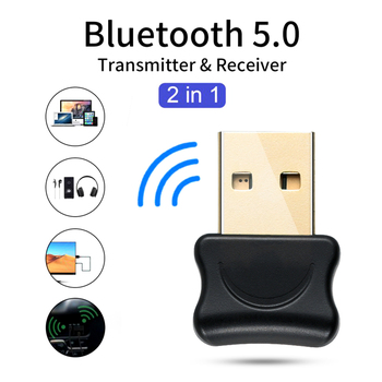 5.0 Bluetooth Adapter USB Bluetooth Transmitter for Pc Computer Receptor Laptop Earphone Audio Printer Data Dongle Receiver 1