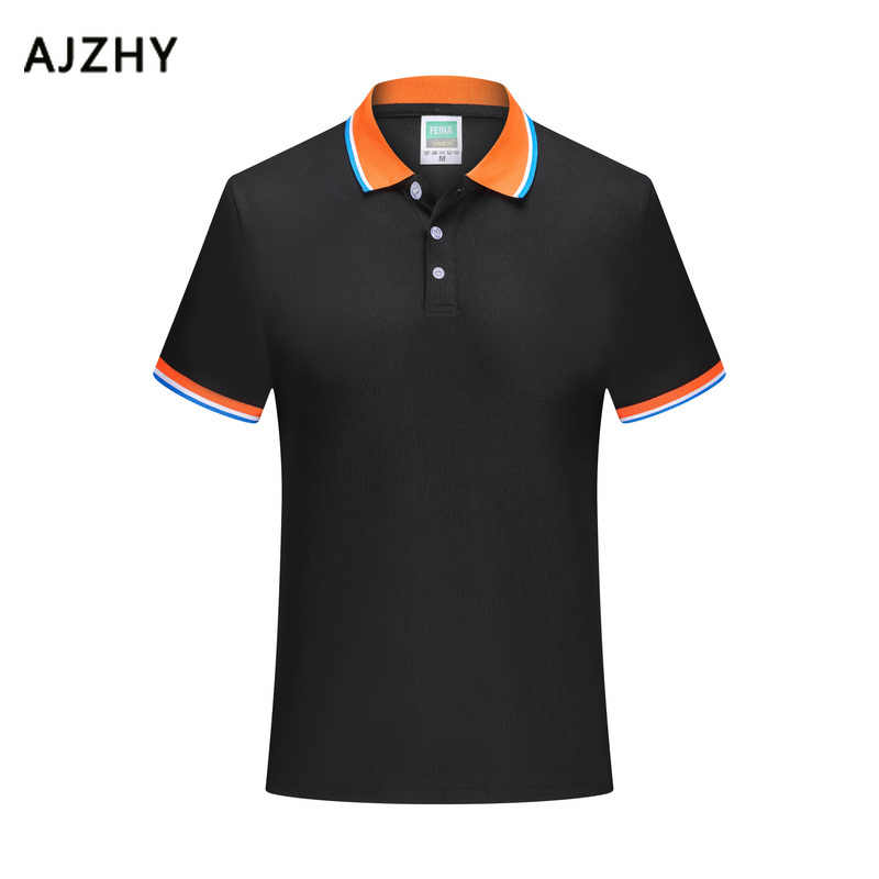 Summer Polo Shirt Men Cotton Short Sleeve Breathable Anti-Pilling 2019 New Casual Solid Summer Sport Jerseys Golf Tennis Shirts