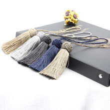 4PC/Bag Tassel Hanging Rope Tassel for Sewing Clothing Curtain Fringe Home Decoration Craft Room Accessories Hanging Ball DIY