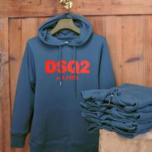 Брендовые модные толстовки dsq с надписью свитшот для мужчин