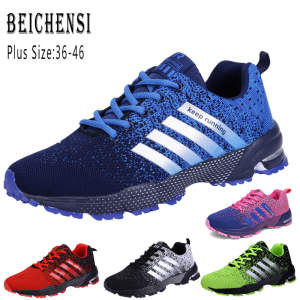 2019 Men Shoes Casual Shoes Fashion Mesh Shoes Walking Sneakers Big Size 36-47 Zapatillas Hombre Zapatos Para Couple Sport Shoes