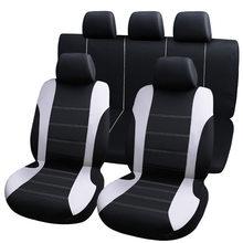 9 pçs universal tampas de assento do carro universal proteger tampas de assento automotivo fo kalina grantar lada priora renault logan