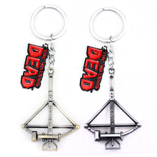 The Walking DEAD arrow key chain accessories for cars Zinc Alloy keychain car hang act the role ofing decoration Creative gift