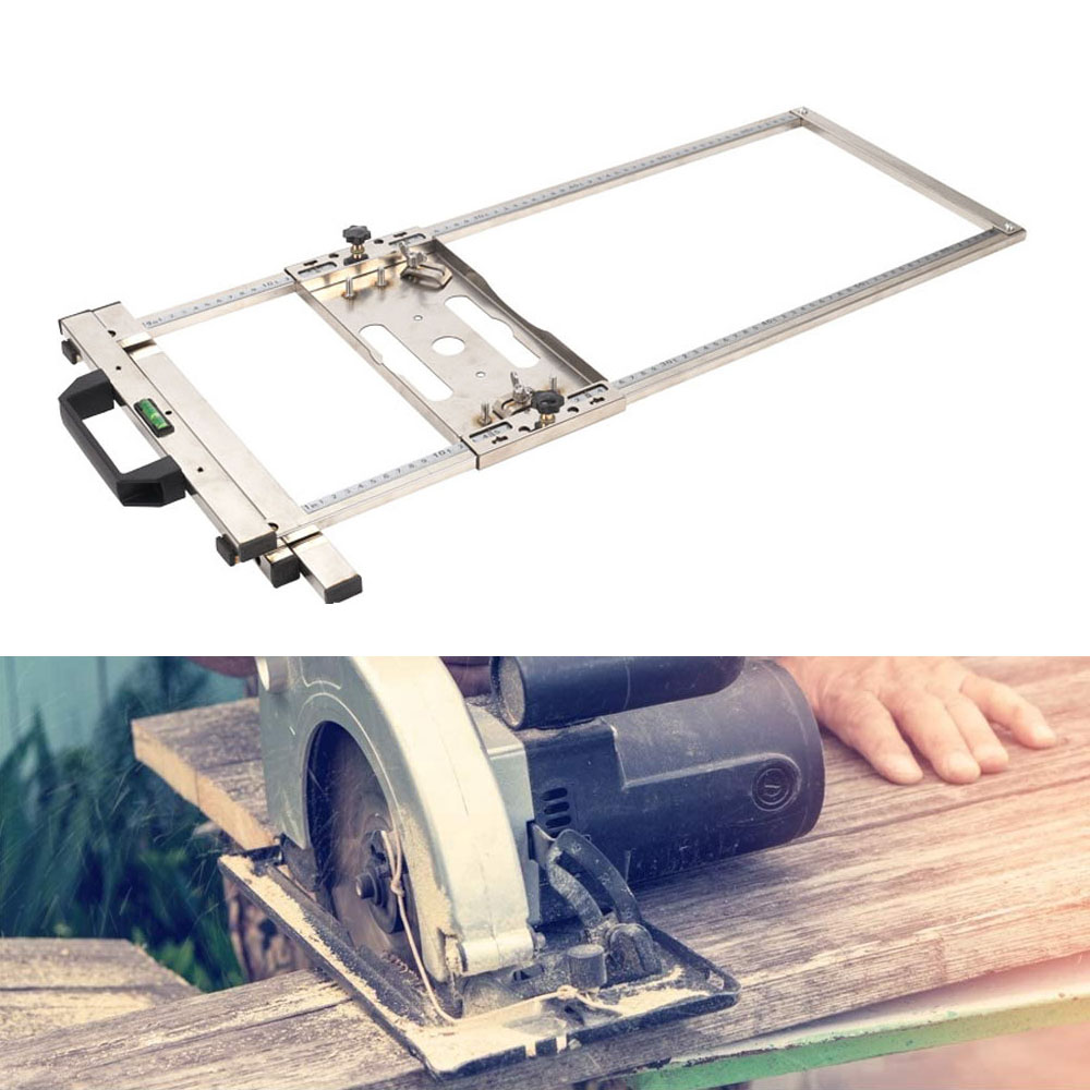 7inch 18cm  Edge Guide Positioning Cutting Board for Electricity Circular Saw Marble Woodworking Tool Trimmer Machine