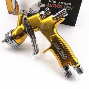 Image 5 - spray gun paint 1.3mm Nozzle GTI PRO Professional HVLP Spray Gun Air Paint Spray Guns Airbrush For Painting Car paint repair