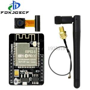 ESP32-CAM WiFi Module ESP32 serial to WiFi ESP32 CAM Development Board 5V Bluetooth with OV2640 Camera Module + 3DBI Antenna