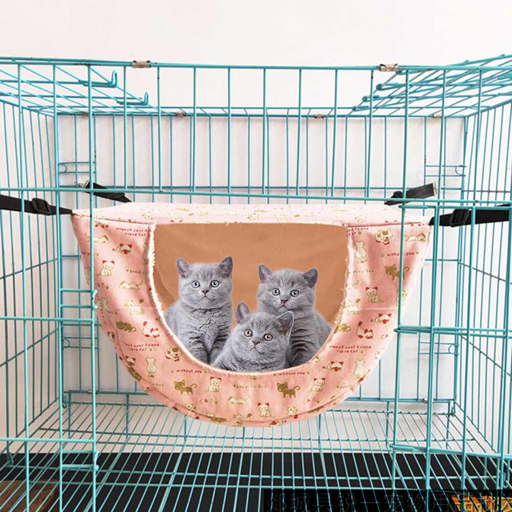 Animais pequenos ninho dormir cama casa pet gato hamster rede pendurado gaiola camas para animais de estimação pequenos furões cobaias esquilos