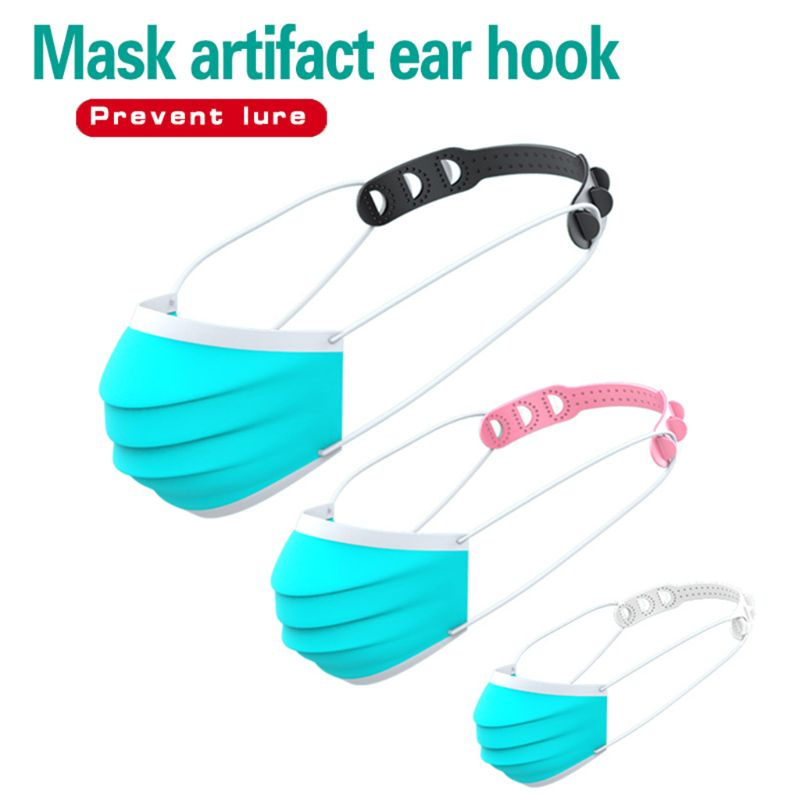 Adjustable Face Mask Ear Hooks Buckle Mask Fixing Buckle Ear Strap Extension Disposable Mask Anti Lock Buckle Dust Mask