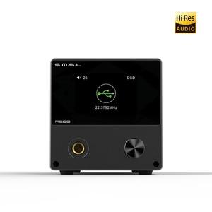 Image 2 - SMSL M500 DAC Headphone AMP MQA ES9038PRO ES9311 XMOS XU 216 32bit 768kHz DSD512 Hi Res Audio DAC Headphone Amplifier