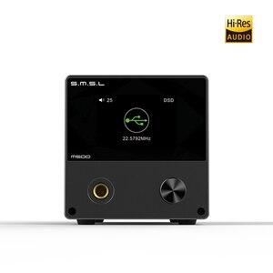 Image 2 - SMSL M500 DAC Kulaklık AMP MQA ES9038PRO ES9311 XMOS XU 216 32bit 768kHz DSD512 Yüksek Çözünürlüklü Ses DAC kulaklık amplifikatörü, ön sipariş