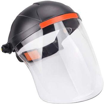 Full Face Protective Shield Visor Adjustable Transparent Hat Splash Saliva-proof Anti-fog Empty Top Cap блеск для губ top face top face to059lwexeg3