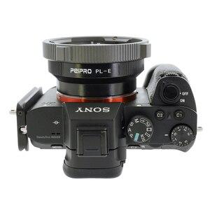 Image 5 - PEIPRO PL E محول العدسة ل PL السينما عدسة لسوني E جبل كاميرا MF محول حلقة ل A7R3 A7R4 A7R IV