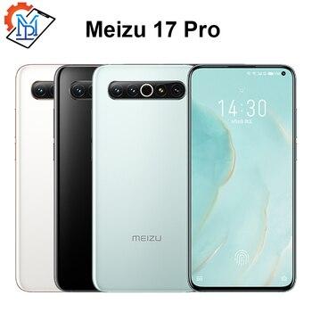 Перейти на Алиэкспресс и купить Meizu 17 Pro смартфон с 6,6-дюймовым дисплеем, восьмиядерным процессором Snapdragon 865, ОЗУ 8 Гб, ПЗУ 128 ГБ, 64.0MP