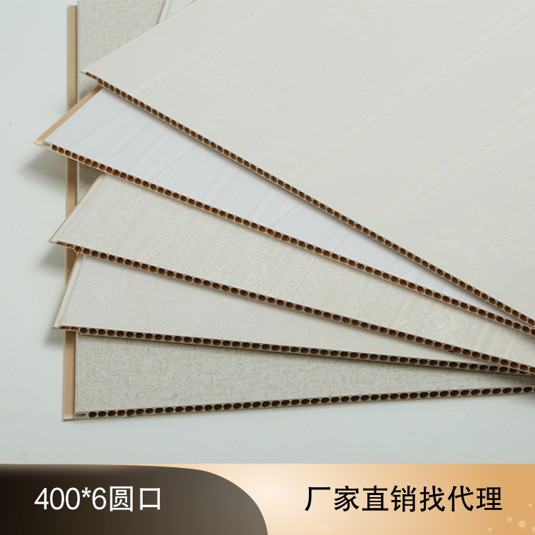 Whole House Outfit Integrated Wallboard Stone Plastic PVC Quick Environmentally Friendly Waterproof Wainscot Background Wall Pan