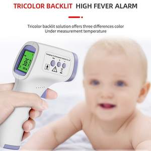Temperature-Meter Digital-Thermometer Non-Contact Lcd-Display Multiple-Styles IR