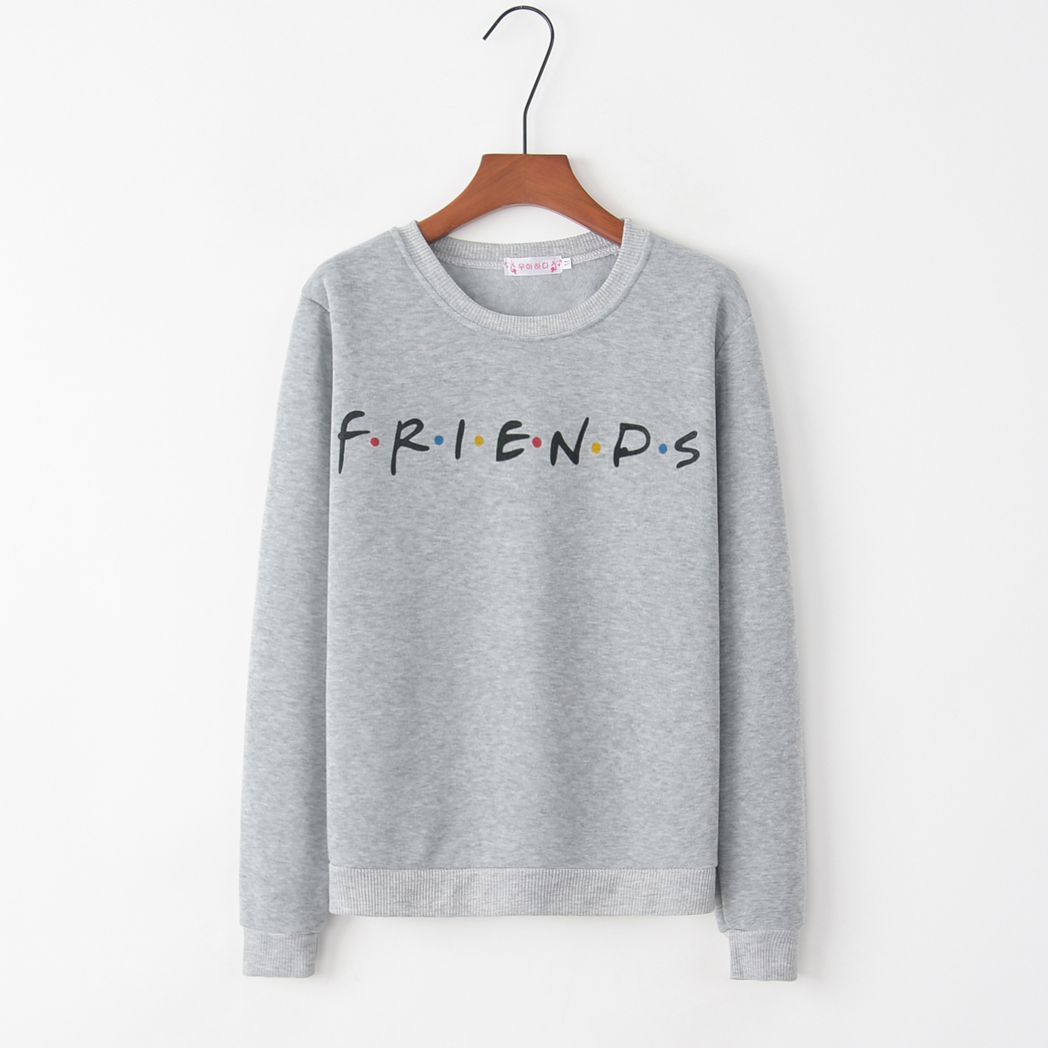 Printed Friends 2020 New Design Hot Sale Hoodies Sweatshirts Women Casual Kawaii Harajuku Sweat Girls European Tops Korean