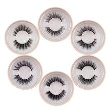 Mink lashes natural long cruelty free 3d mink eyelashes soft dramatic false eyelashes lashes maquillaje makeup fake lashes tools