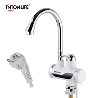 Chauffe-eau électrique affichage de la température chauffe-eau cuisine sans réservoir instantané chaud 3000W