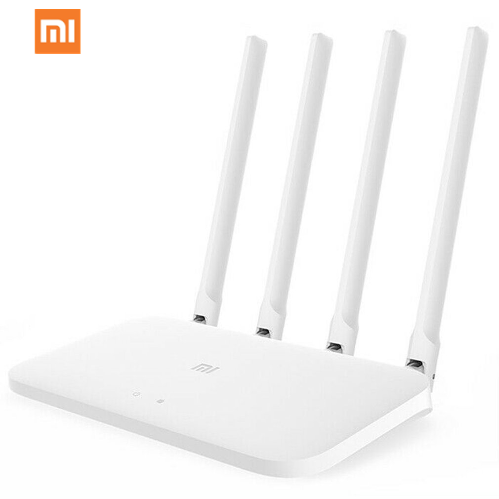 MI Xiaomi Router 4 Wifi Repeater 2.4G WiFi Repeater Single Router High Gain 4 Antennas Network Extender For Xiaomi 4C