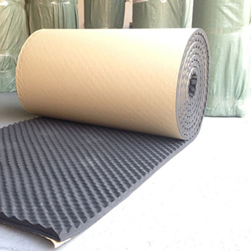 100x100cm Sound Deadener Mat Insulation Cotton Deadening Noise Acoustic Dampening Foam Subwoofer Mats For KTV Recording Studio