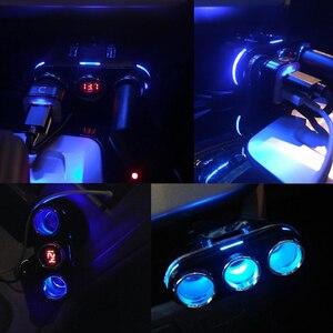Image 5 - 12V 24V 자동차 충전기 담배 라이터 소켓 분배기 자동 USB 충전 전화 DVR 카메라 12V 자동차 충전기 자동차 용품