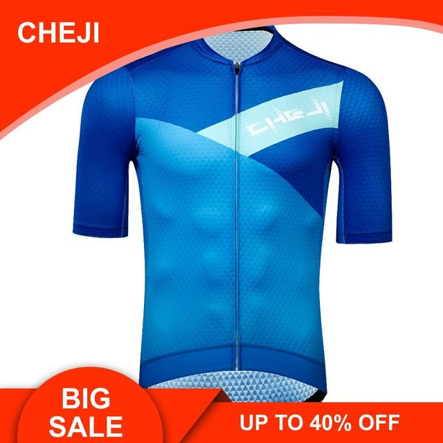 Summer Men Breathable Cycling Jersey Road Bike Short Sleeve Shirt Bicycle Wear