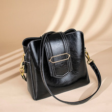 Fashion Women #8217 s Genuine Leather Handbags Luxury Handbags Ladies Small Shoulder Bags Vintage Messenger Bags Cow Leather C1353 cheap CHISPAULO Casual Tote Shoulder Crossbody Bags zipper Soft Solid Bag Polyester Versatile Three Interior Zipper Pocket Cell Phone Pocket