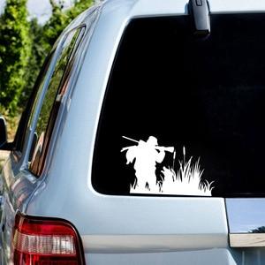 Image 4 - Neue Design Hunter Auto Aufkleber Jagd Abenteuer Aufkleber für Auto Körper Autos Kopf Motor Abdeckung Fenster Dekoration Wrap Vinyl Oem