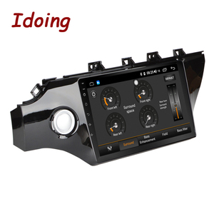 """Image 2 - Idoing 10.2""""4G+64G 2.5D IPS Octa Core 1Din Car Android Radio Video Player For Kia Rio K2 2017 2018 GPS Navigation and GLONASS"""