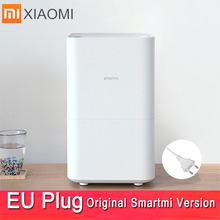 Smartmi 2 Air Humidifier Smog-free Mist-free Pure Evaporate Type Air Humidity Xiaomi 2 Mute Humidifier Mijia Mi home App Control xiaomi mijia original smartmi natural evaporative pure humidifier air dampener aroma diffuser 4l water tank app remote control