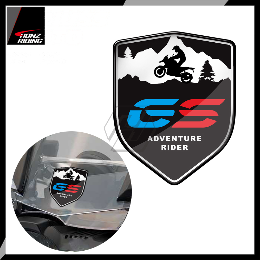 For BMW F800GS F700GS <font><b>R1200GS</b></font> R1250GS 3D Decal Adventure Rider ADV <font><b>GS</b></font> Sticker image
