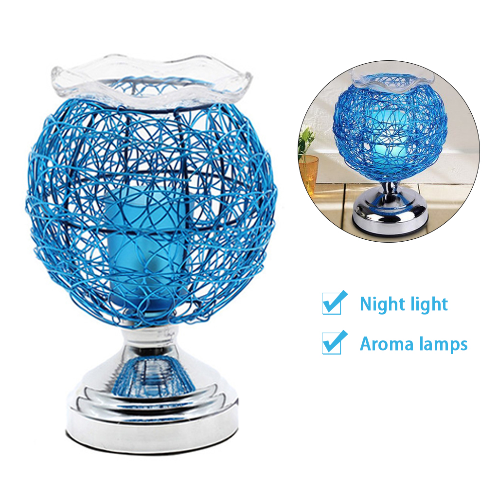 Dimmable Aromatherapy Nest Table Lamp Electric Fragrance Essential Oil Lamp Air Aroma Diffuser Night Light Home Christmas Decor 2