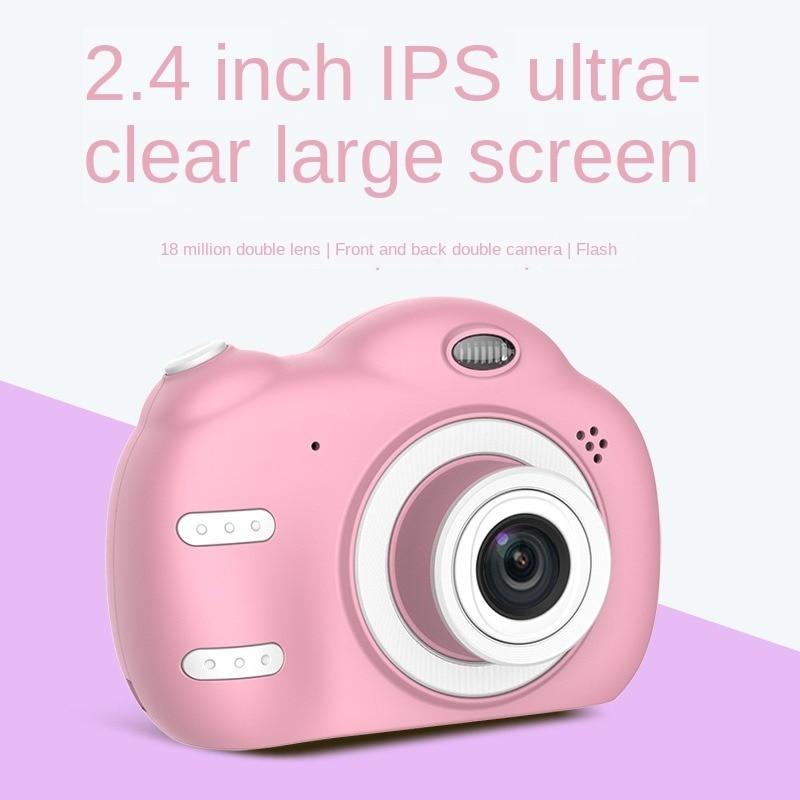 Купить детская камера для съемки фотографий детская 24 экран двойная