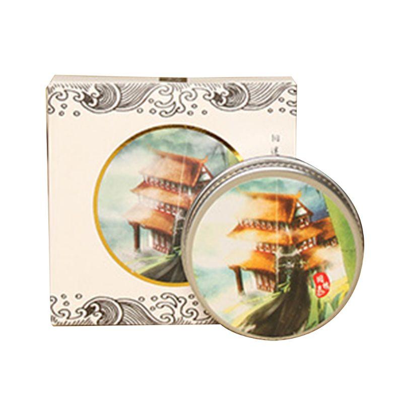 Fresh Elegant Ancient Style Balm Solid Perfume Men Women Light Fragrance Students Body Cream Q81B