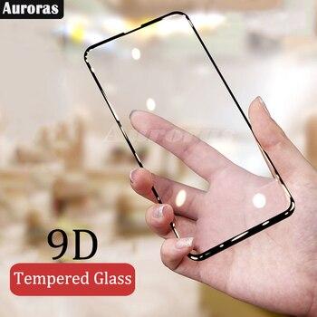 Перейти на Алиэкспресс и купить Auroras для Infinix S5 Pro Защитная пленка для экрана стеклянная пленка 3D полное закаленное стекло для infinix s 5 pro пленка
