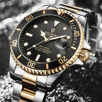 TEVISE Elite Ghost Men Mechanical/Quartz Luminous Business Wristwatches 1