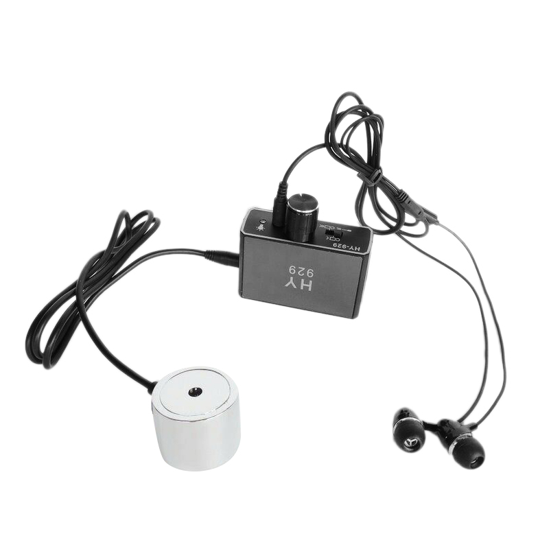 Hot 3C-DIY HY929 High Strength Wall Microphone Voice Listen Detecotor For Engineer Water Leakage Oil Leaking Hearing