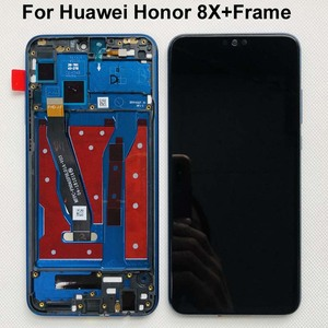 Image 3 - Original Display For 6.5 Huawei Honor 8X JSN AL00 JSN L22 JSN L21 Full LCD DIsplay +Touch Screen Digitizer Assembly With Frame