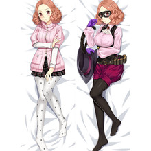 Pillowcases Dakimakura PERSONA Cover Otaku Body-Throw Takamaki Hugging Anime Gift Haru