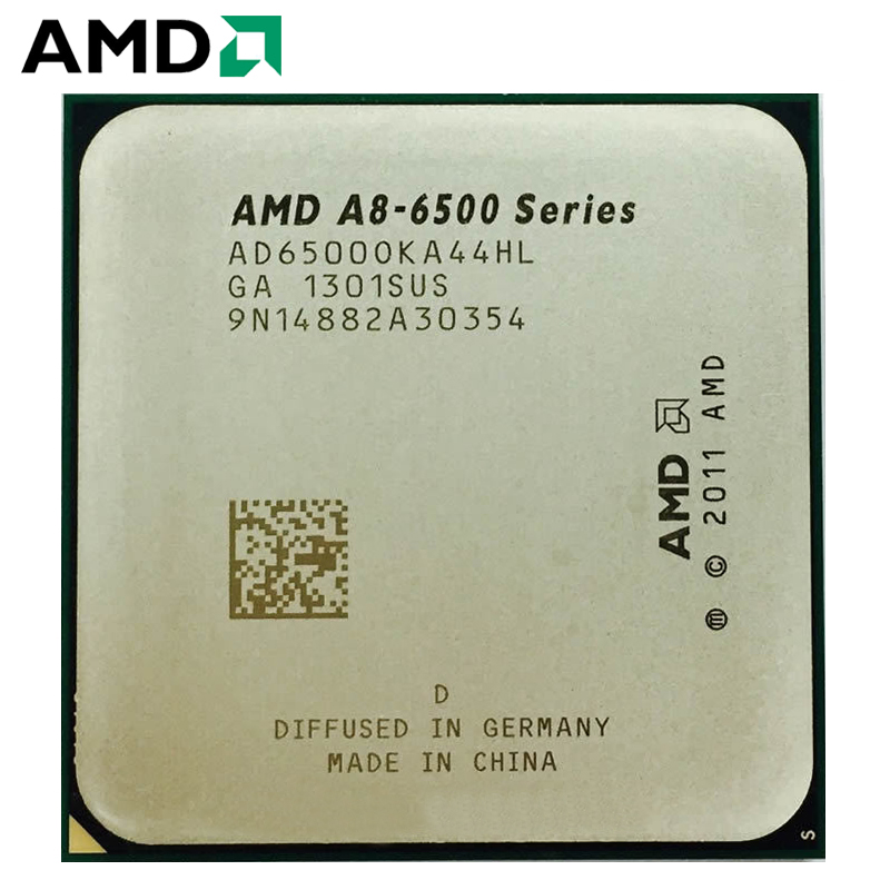 AMD A8 Series A8 6500 A8 6500K A8 6500B 3.5GHz Quad-Core CPU Processor AD6500OKA44HL/AD650BOKA44HL 4M Socket FM2 1