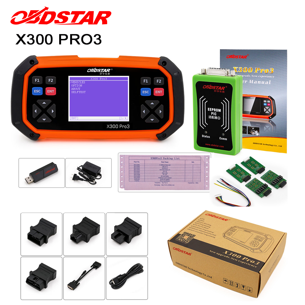 OBDSTAR Immobiliser Odometer-Adjustment PRO3 Toyota EEPROM Key-Master H-Chip For G