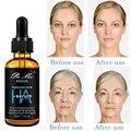 Hyaluronsäure Gesicht Serum Anti-Aging Schrumpfen Poren Feuchtigkeits Gesichts Essenz Verbessern Trockene Haut Pflege Bleaching Haut Flüssigkeit 30ml