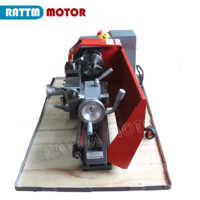 Home Metal Lathe WM180V small ball machine mini machine tool teaching 300 x 180mm Metal lathe woodworking & 600W Spindle